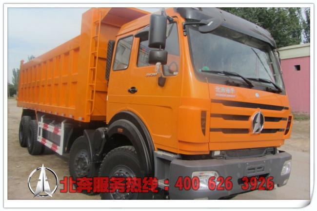 北奔重卡3138自卸车|350马力|8X4|ND3314D41J