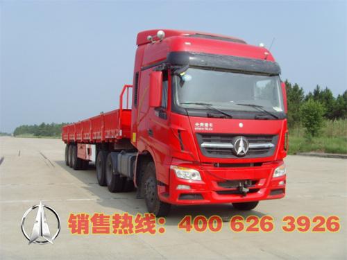 北奔牵引车/后双桥/后八轮/290马力/柴油/ND42502B32J7