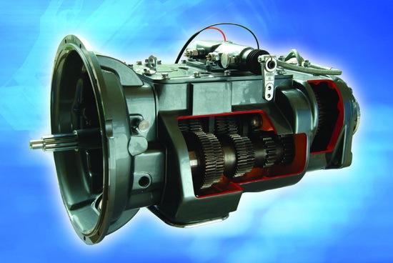 图文讲解法士特12JS160T变速器结构特点及使用要求图片
