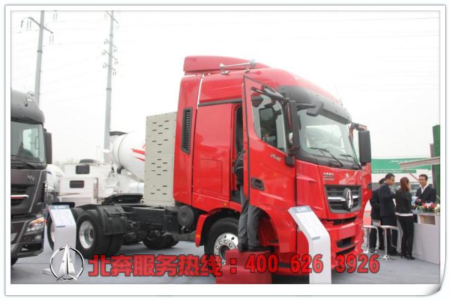 北奔重卡V3牵引车(天然气LNG)(ND4250B38J7)
