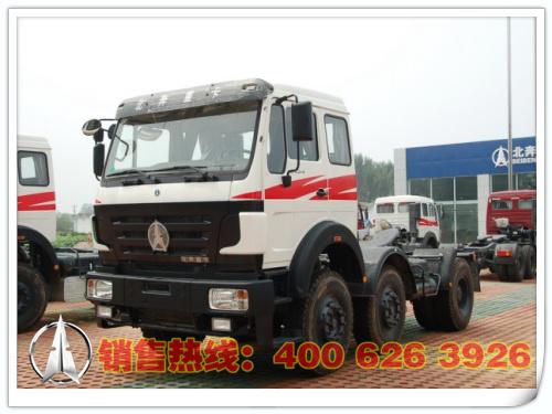 北奔牵引车/后双桥/后八轮/480马力/柴油/ND42505B34J