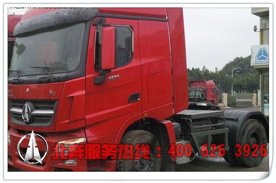 北奔重卡V三牵引车(ND4180A35J7)